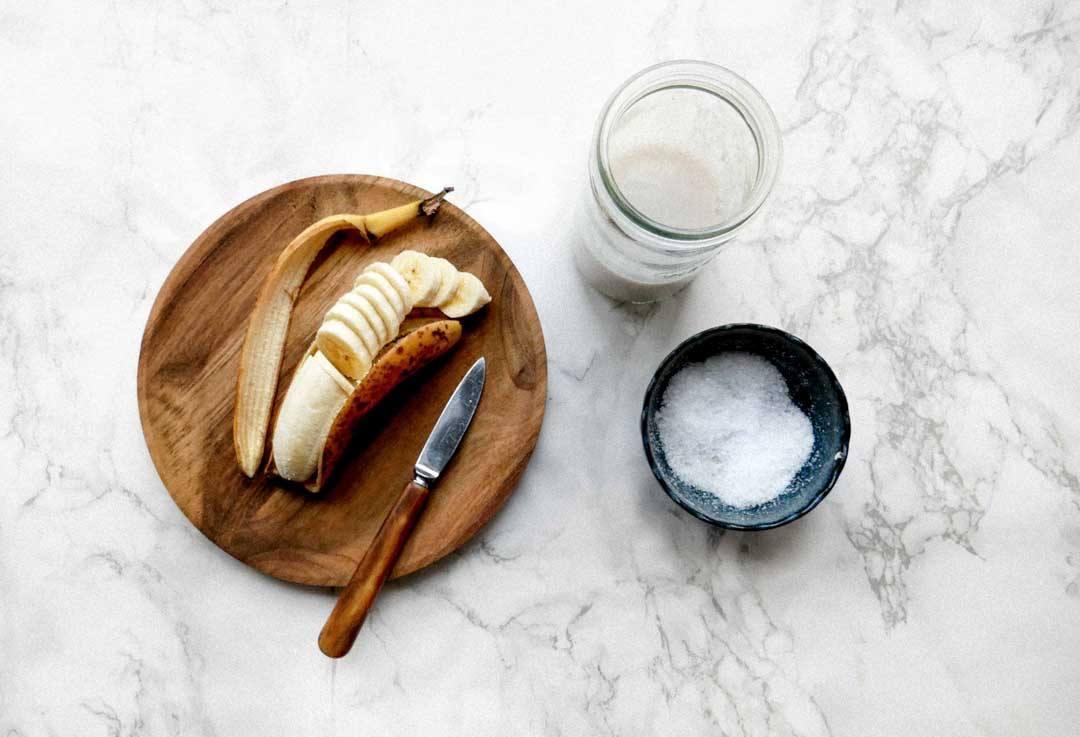 modne bananer bananbrød