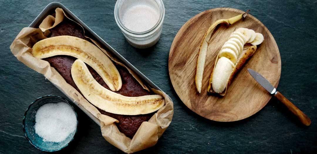 opskrift på bananbrød