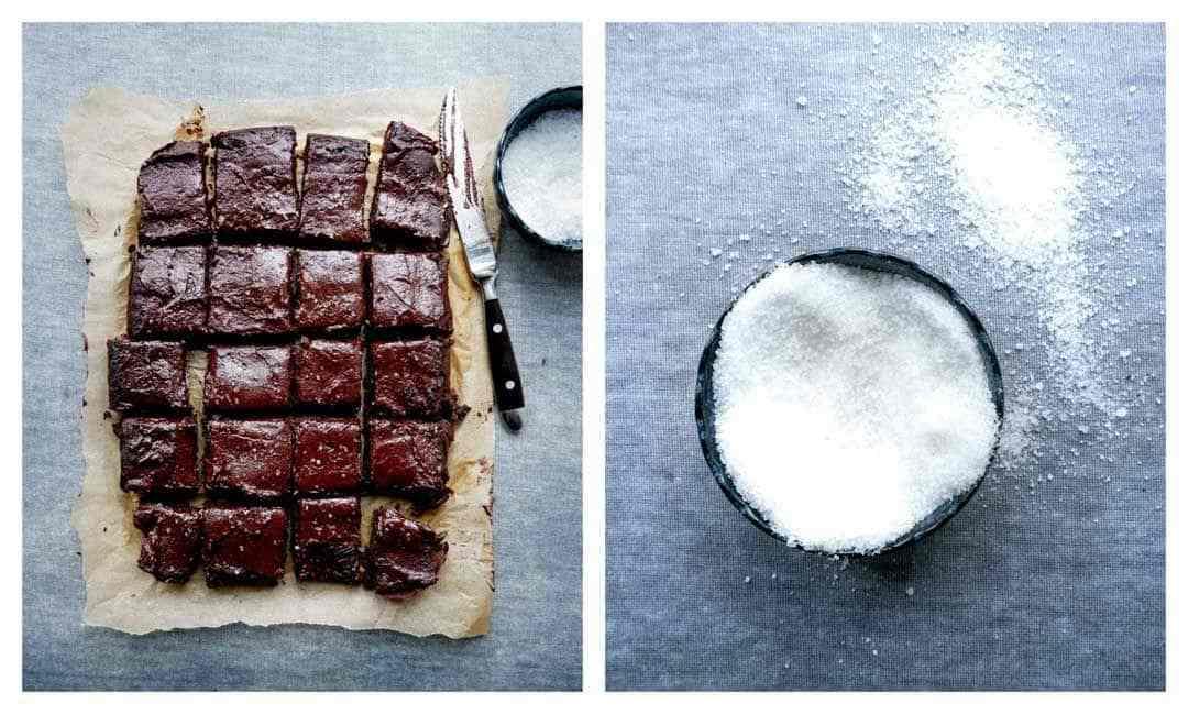 nem vegansk brownie salt