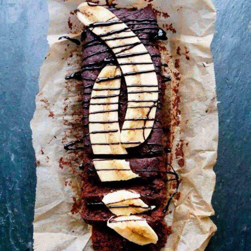 bananbrød uden æg chokolade