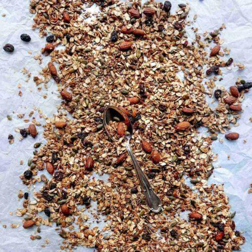 granola opskrift
