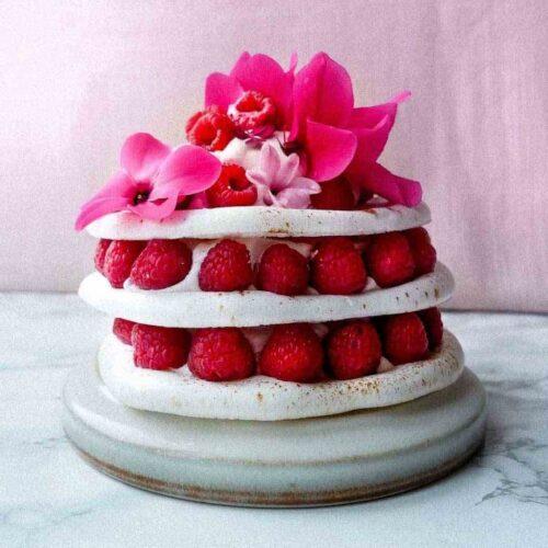 meringue cake uden æg