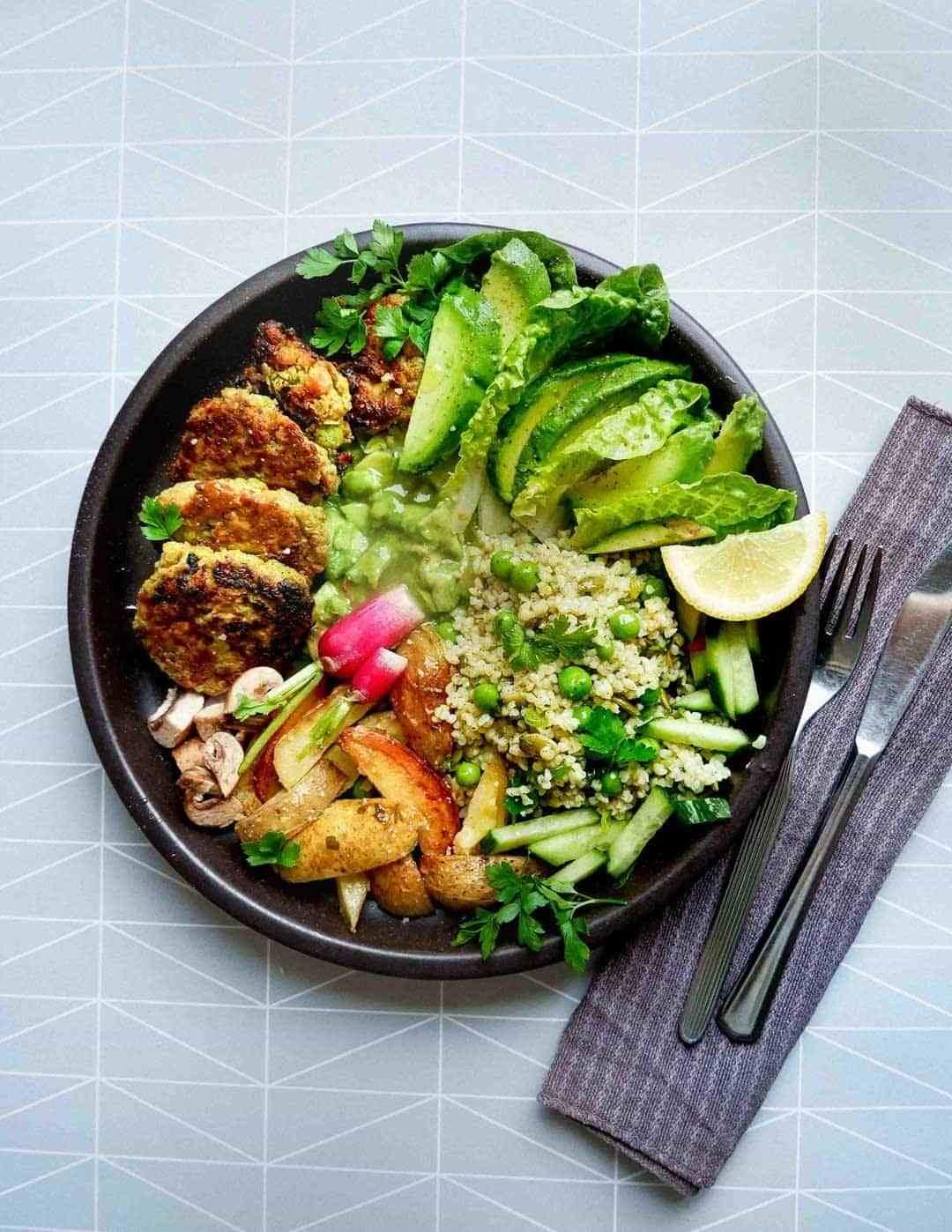 vegetar grønne frikadeller
