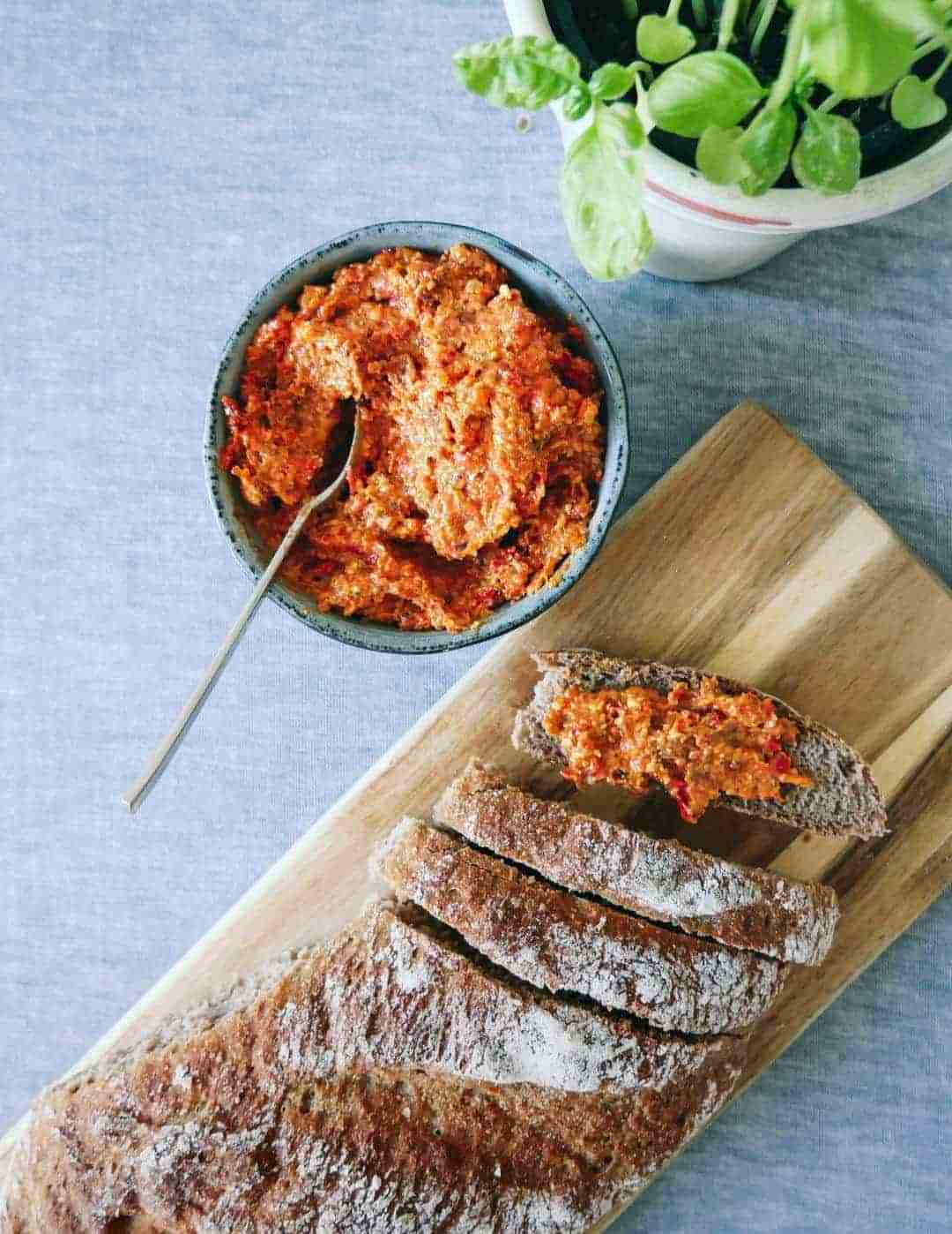 spanish romesco pesto