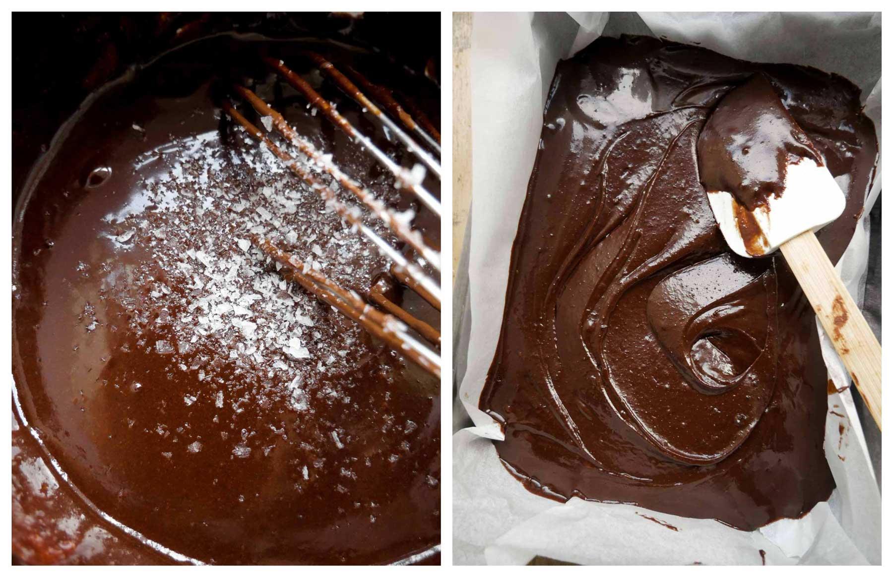 opskrift på chokolade brownies uden æg