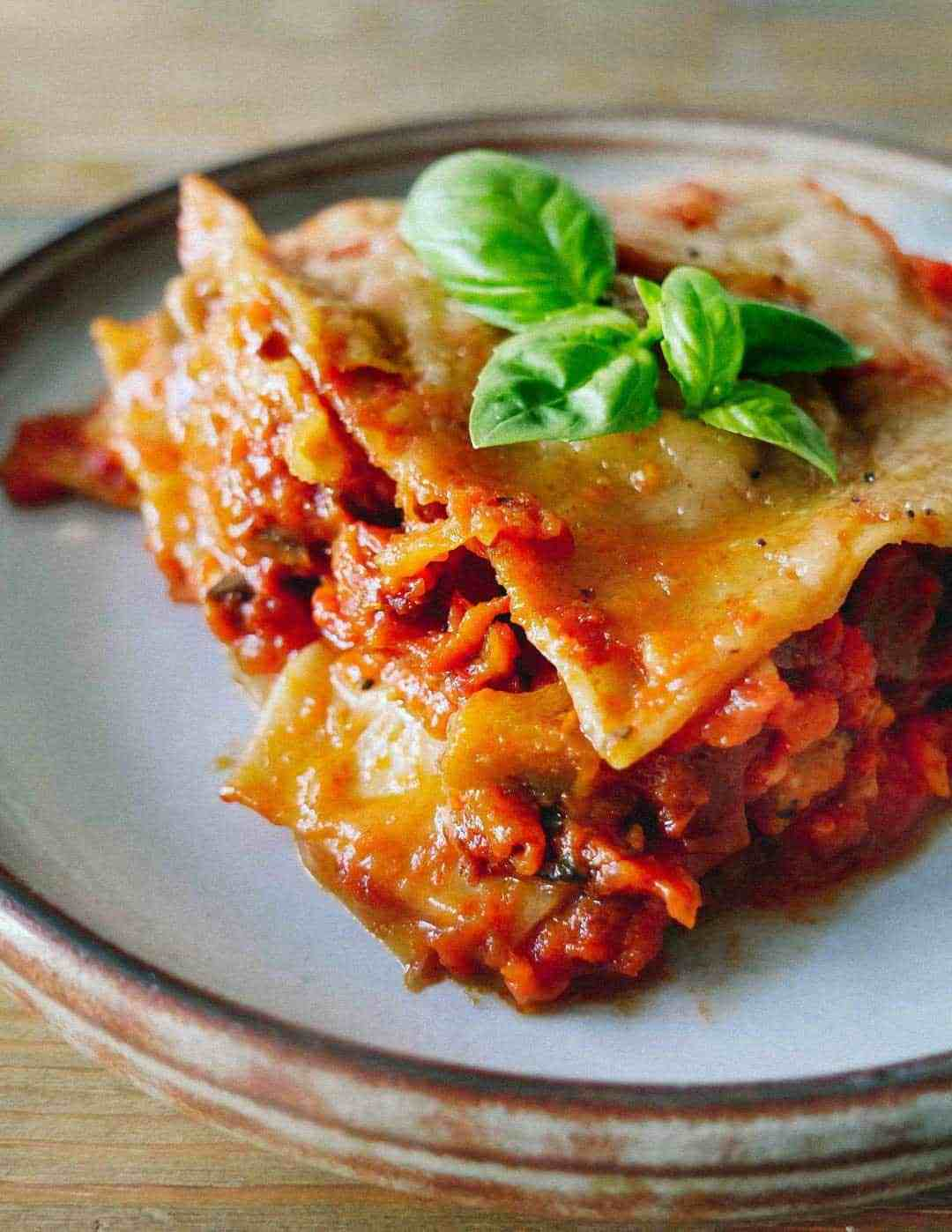 Vegansk Lasagne - Den bedste opskrift