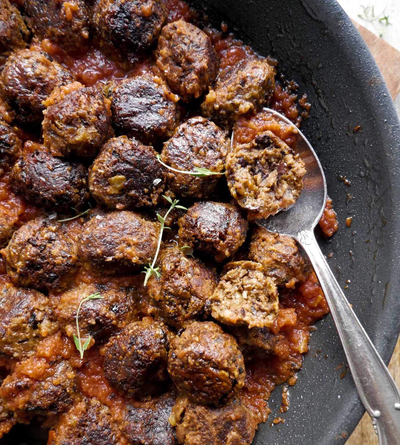 meatballs i tomatsauce