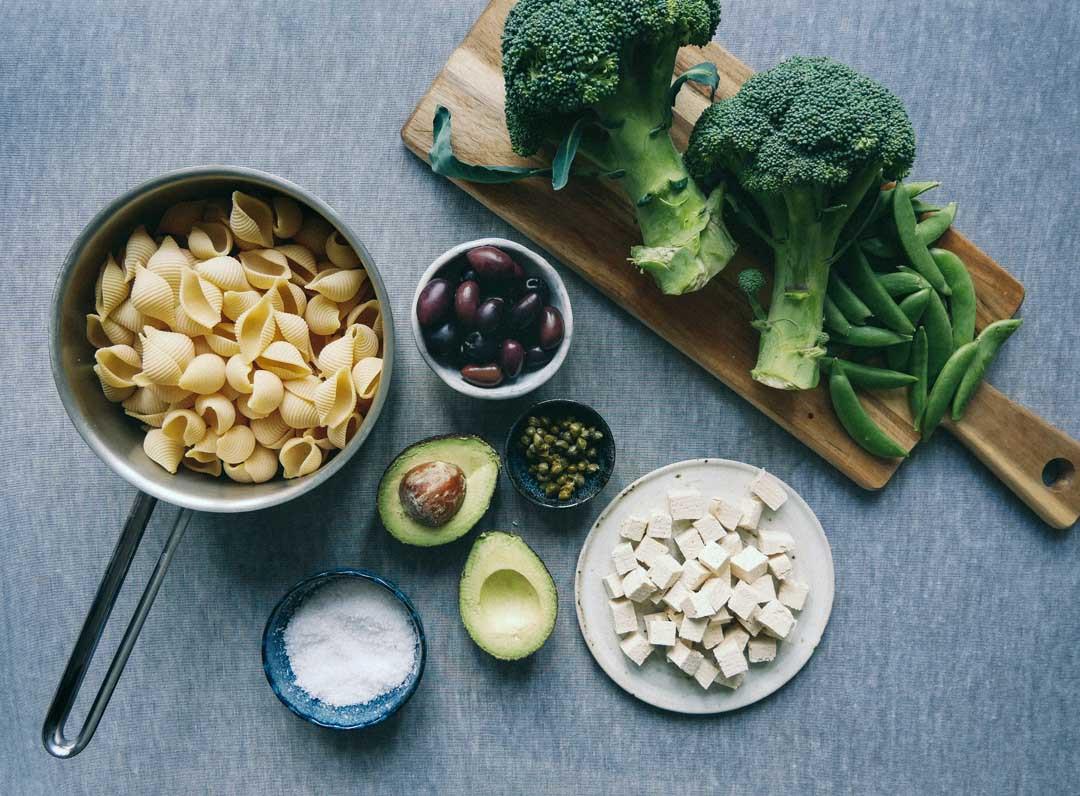 pastasalat-vegetaropskrifter-nyhedsbrev