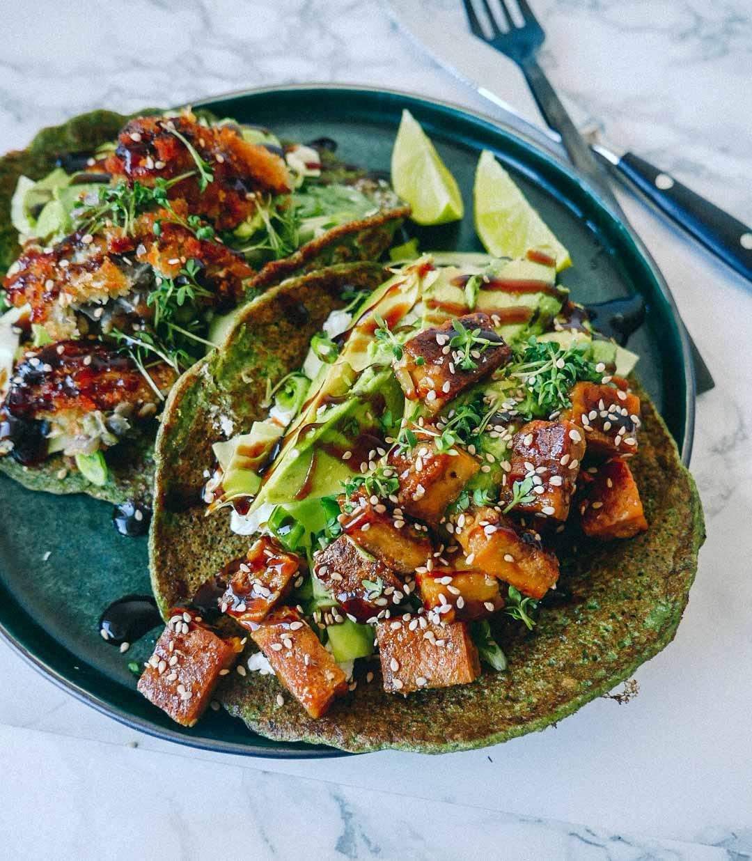vegansk opskrift på stegt tofu