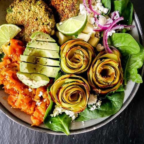michala kramer salat med avokado og kartoffel