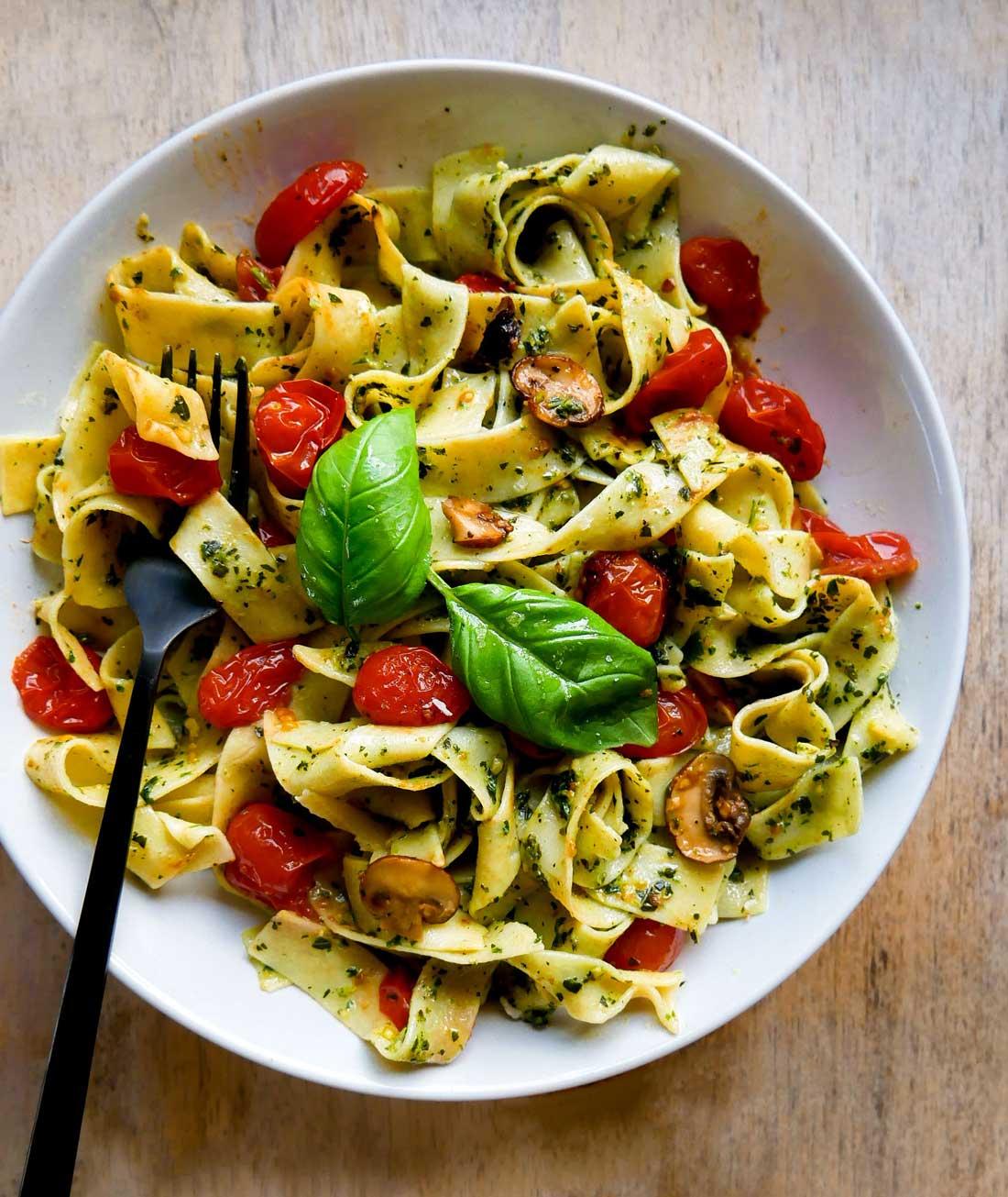 pappardelle pasta på 10 minutter