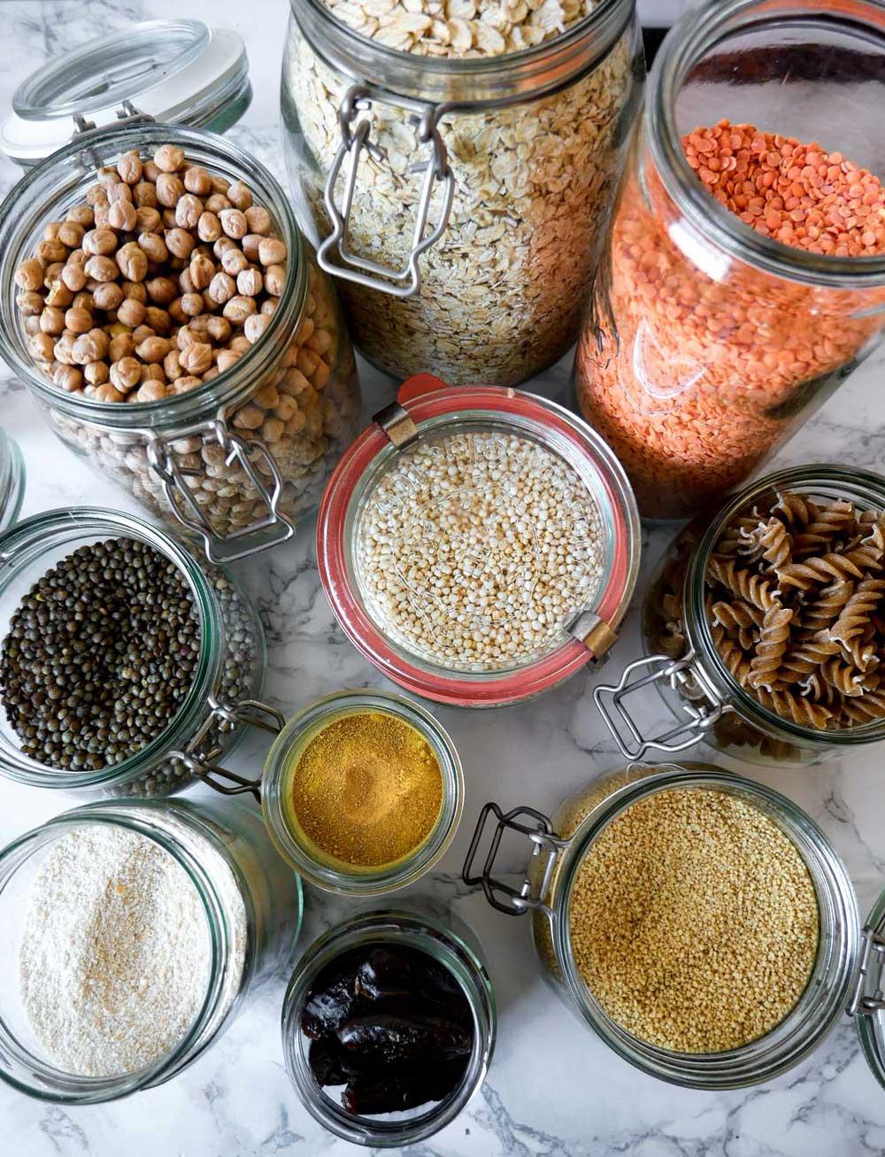 protein i vegansk kost linser og kikærter
