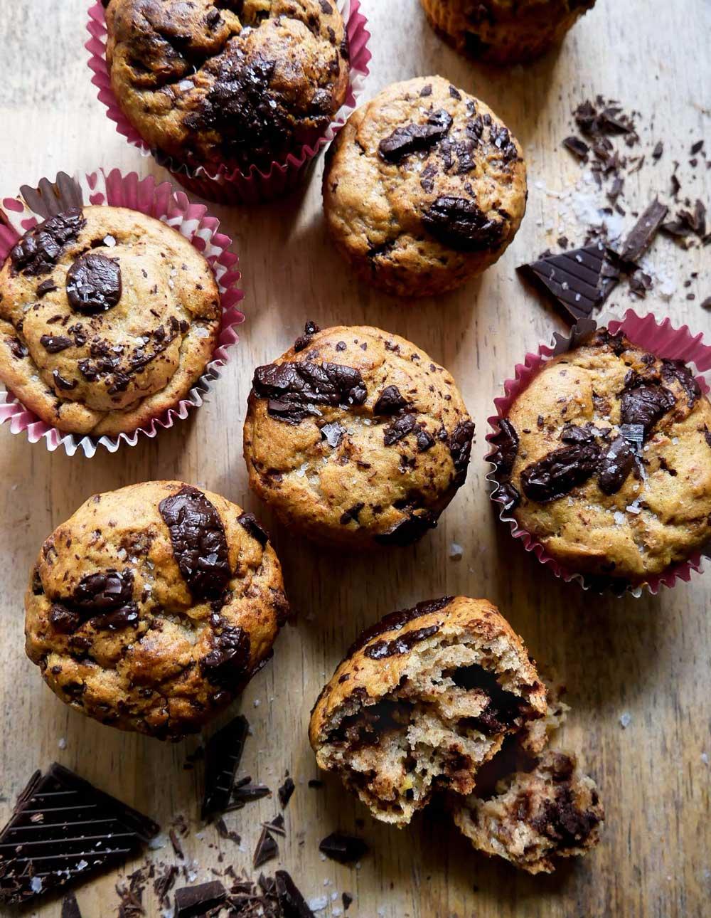 opskrift på muffins med bananer uden æg