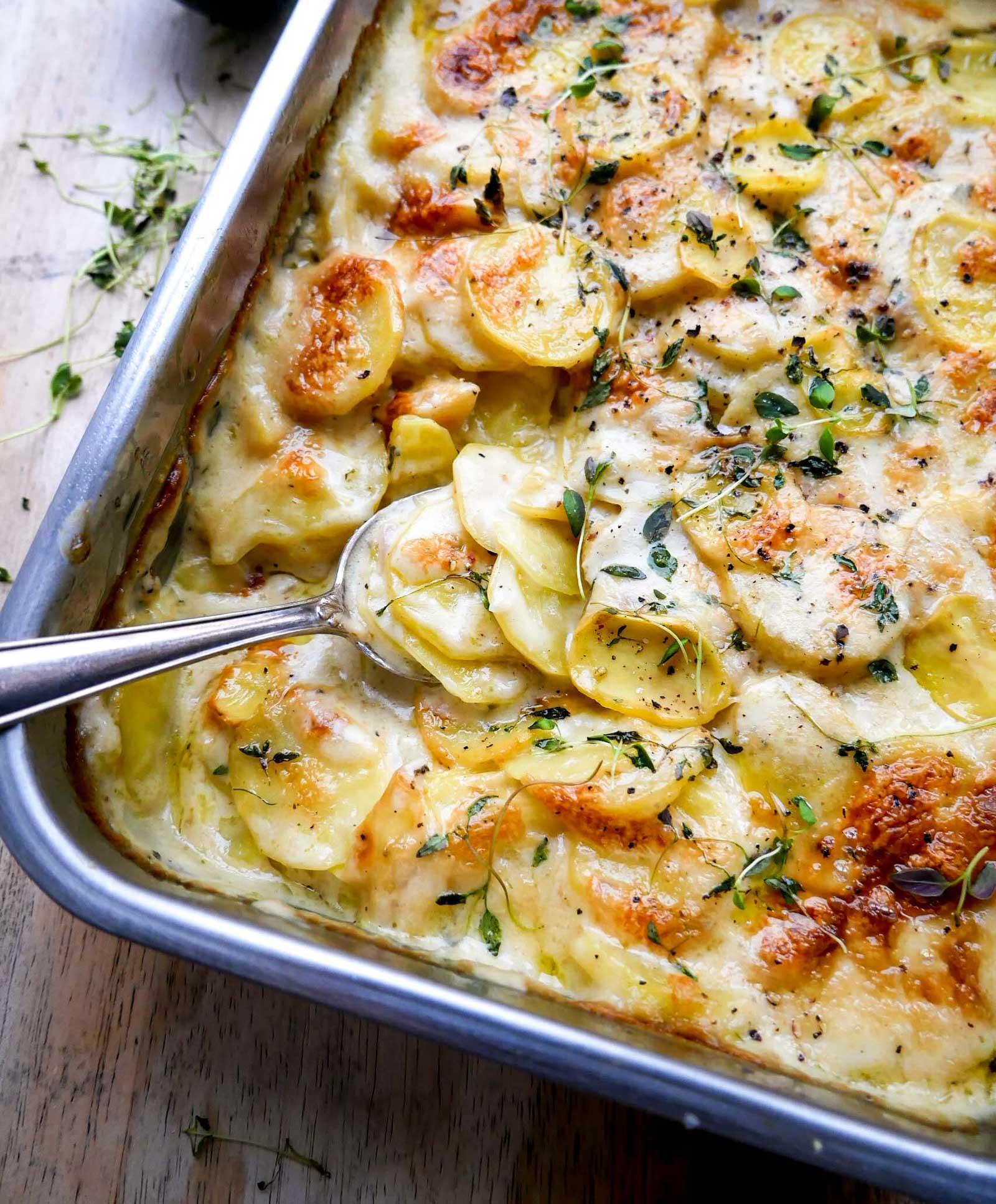nem opskrift på fløde kartofler