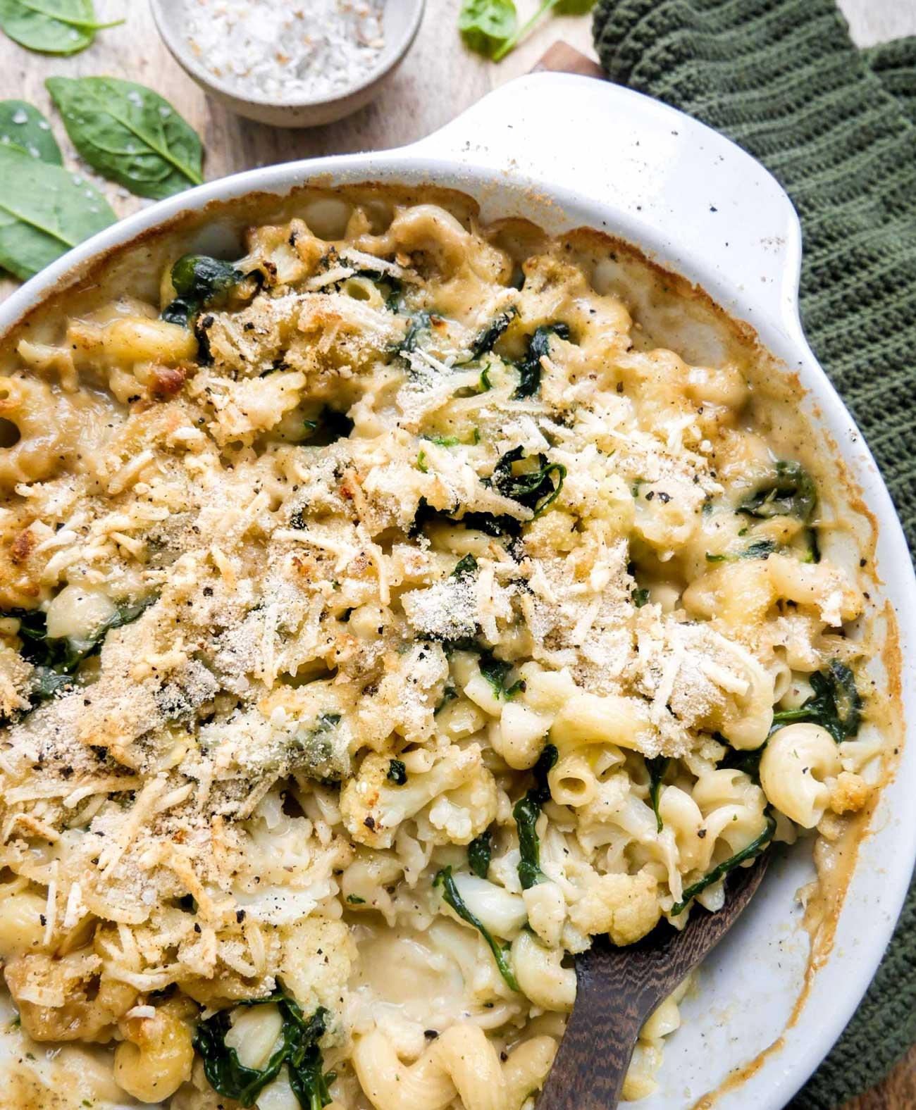lækker opskrift på ovnbagt mac'n'cheese