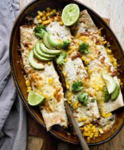 mexicanske madpandekager i ovnen