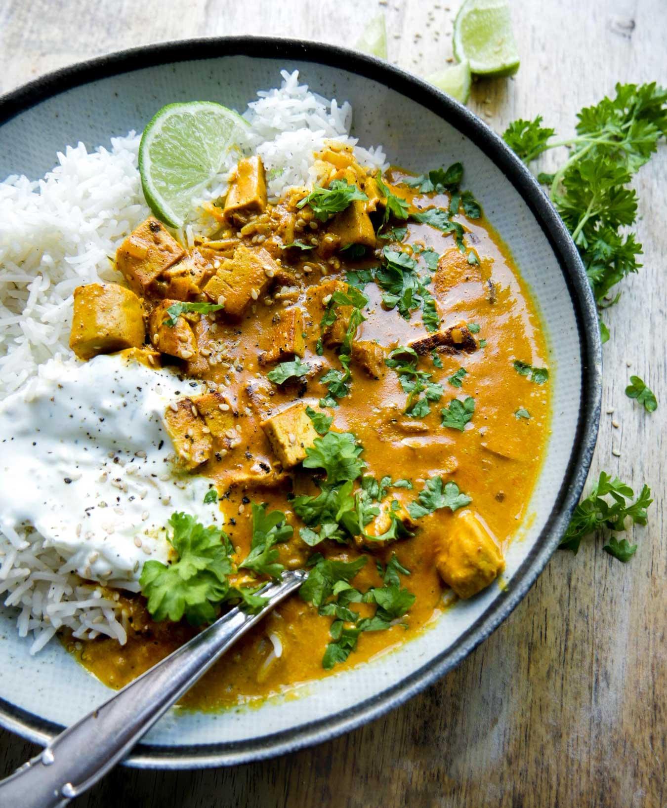 opskrift på indisk tikka gryderet uden kylling klar på 25 min