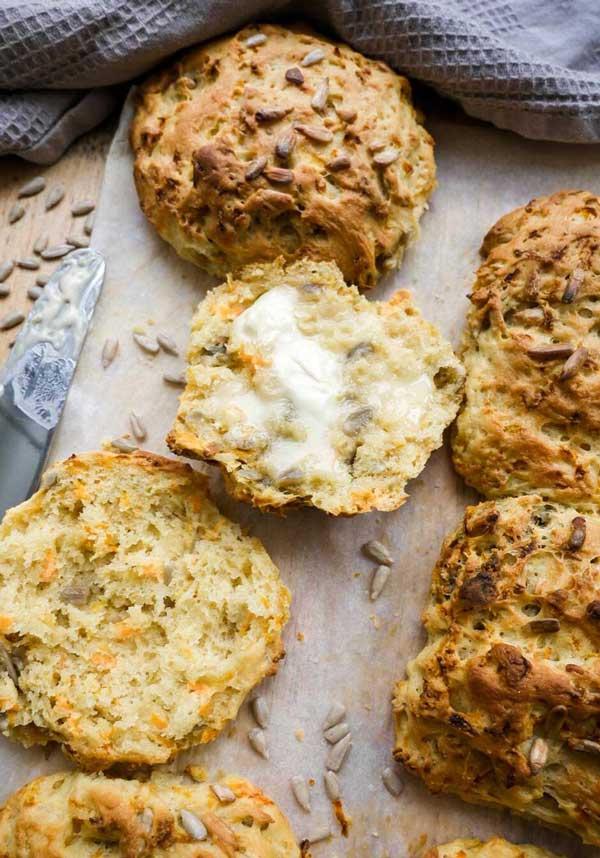 gulerodsboller efterårs opskrifter på vegansk bagværk