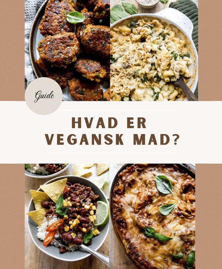 guide til vegansk mad og opskrifter