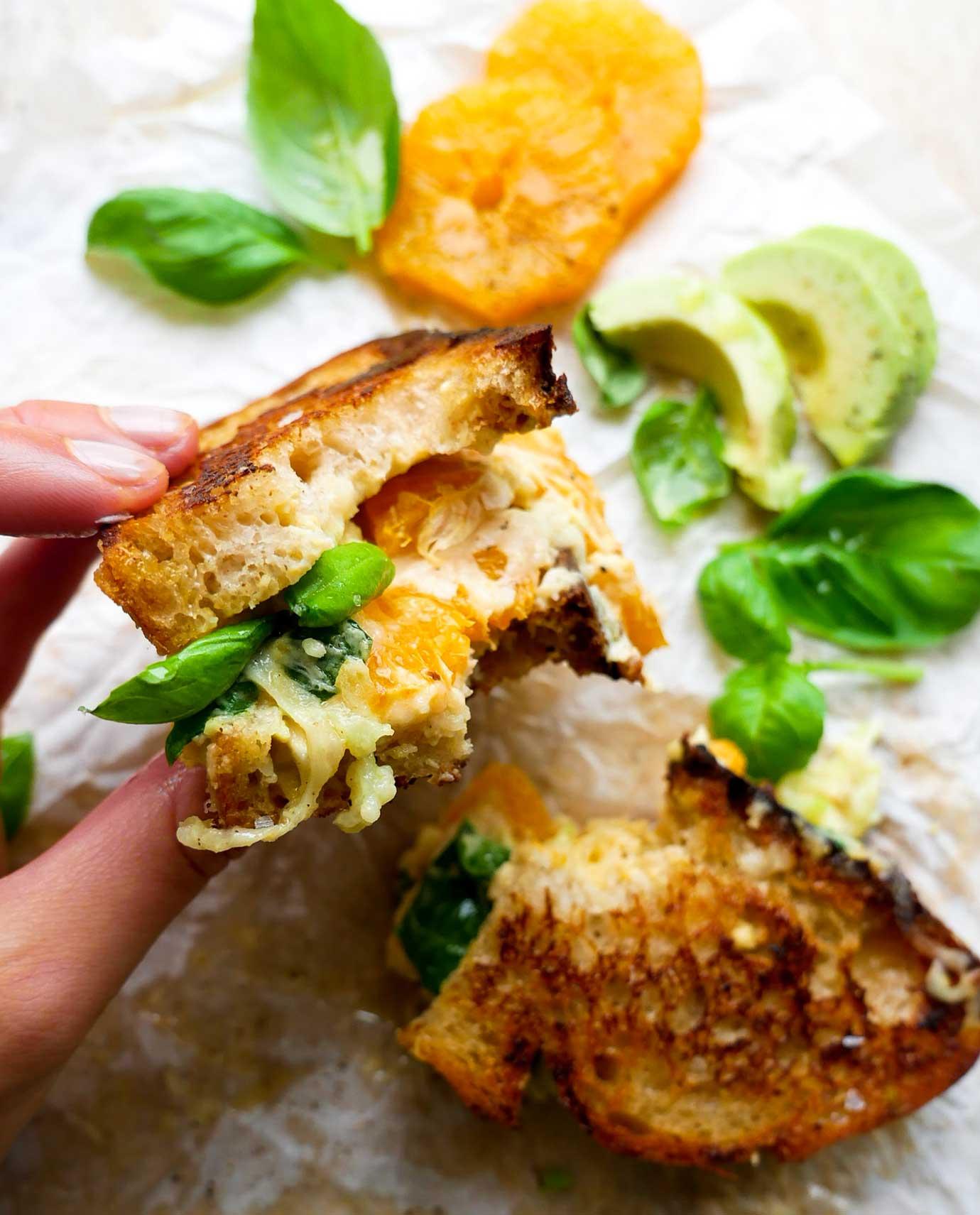 vegansk opskrift på toasts