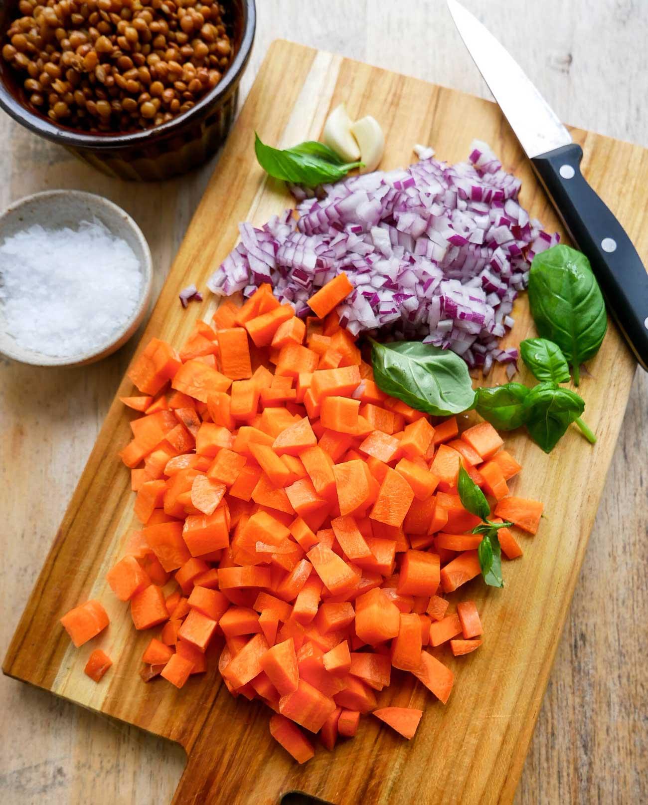 grøntsager til suppe