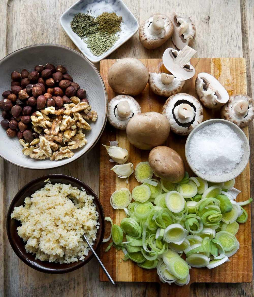 Hjemmelavet postej til vegansk mad