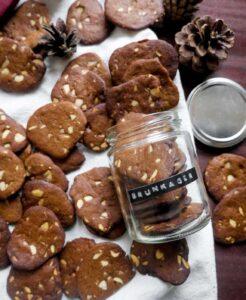 veganske brunkager julesmåkage