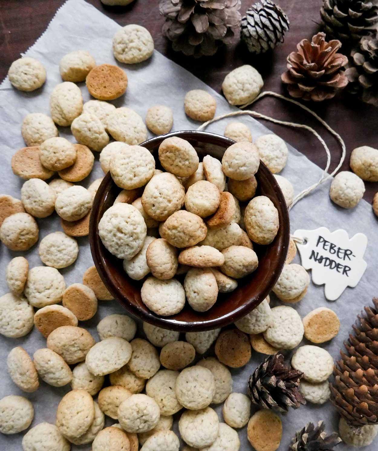 veganske pebernødder nem småkage opskrift