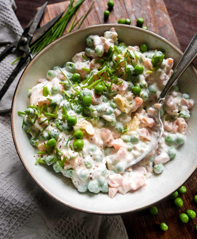 veganske frokostopskrifter salat