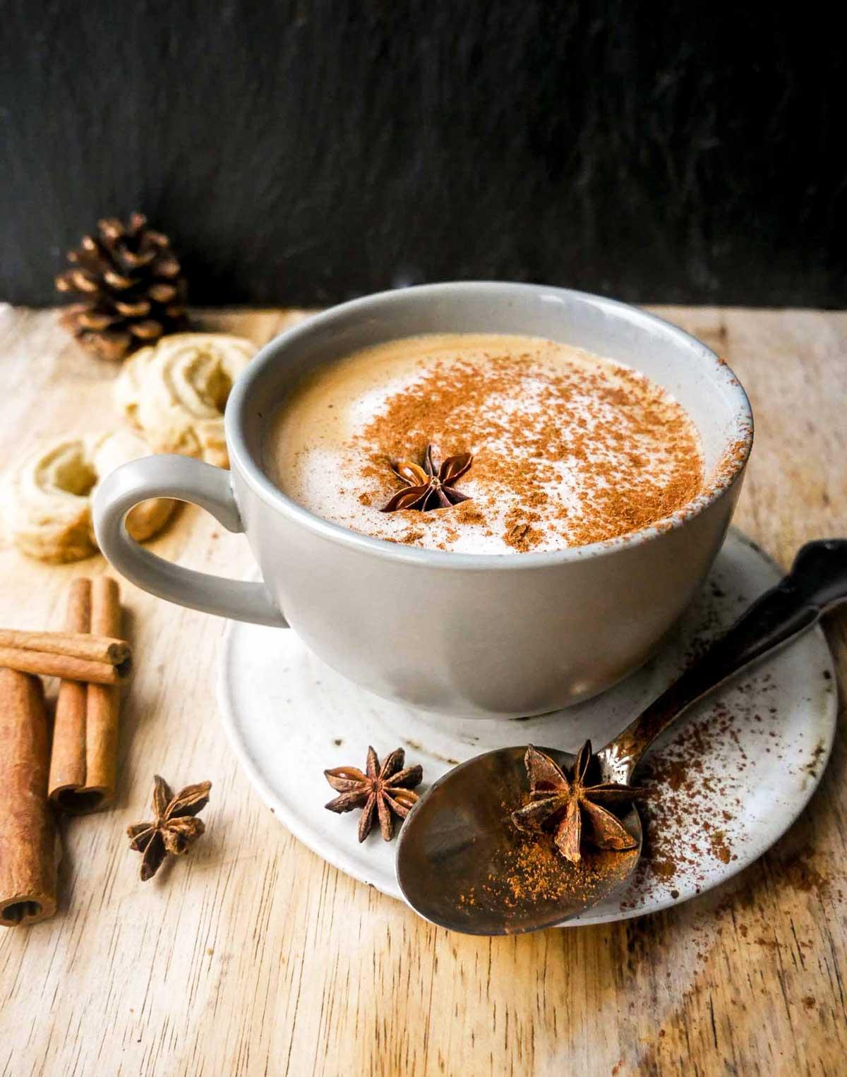 julekaffe vegansk kaffe med plantemælk