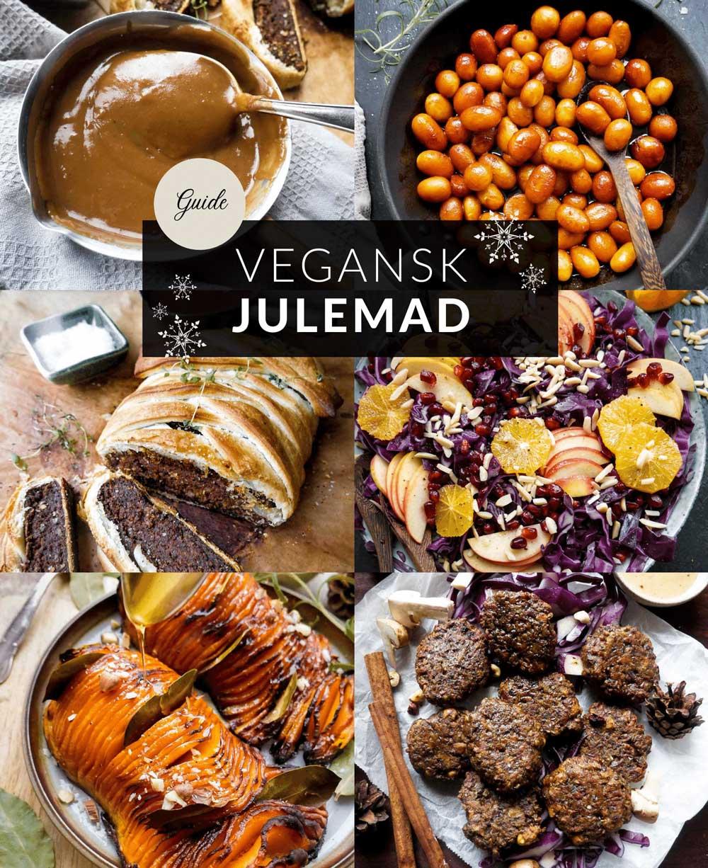 guide til vegansk julemad til julemiddag juleaften