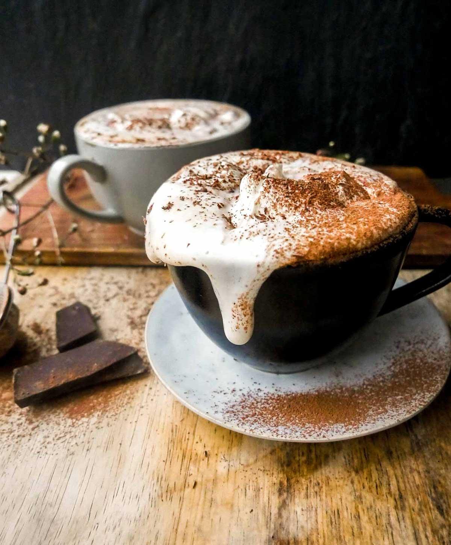 opskrift på nem vegansk varm kakao