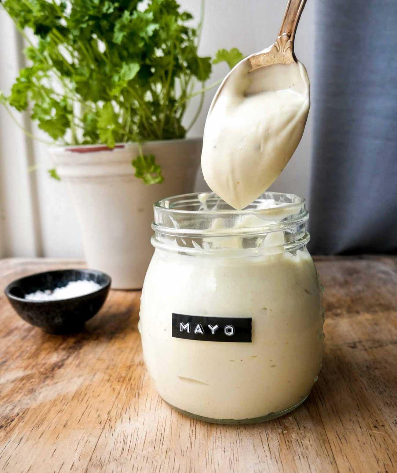 vegansk mayonnaise nem opskrift til smørrebrød