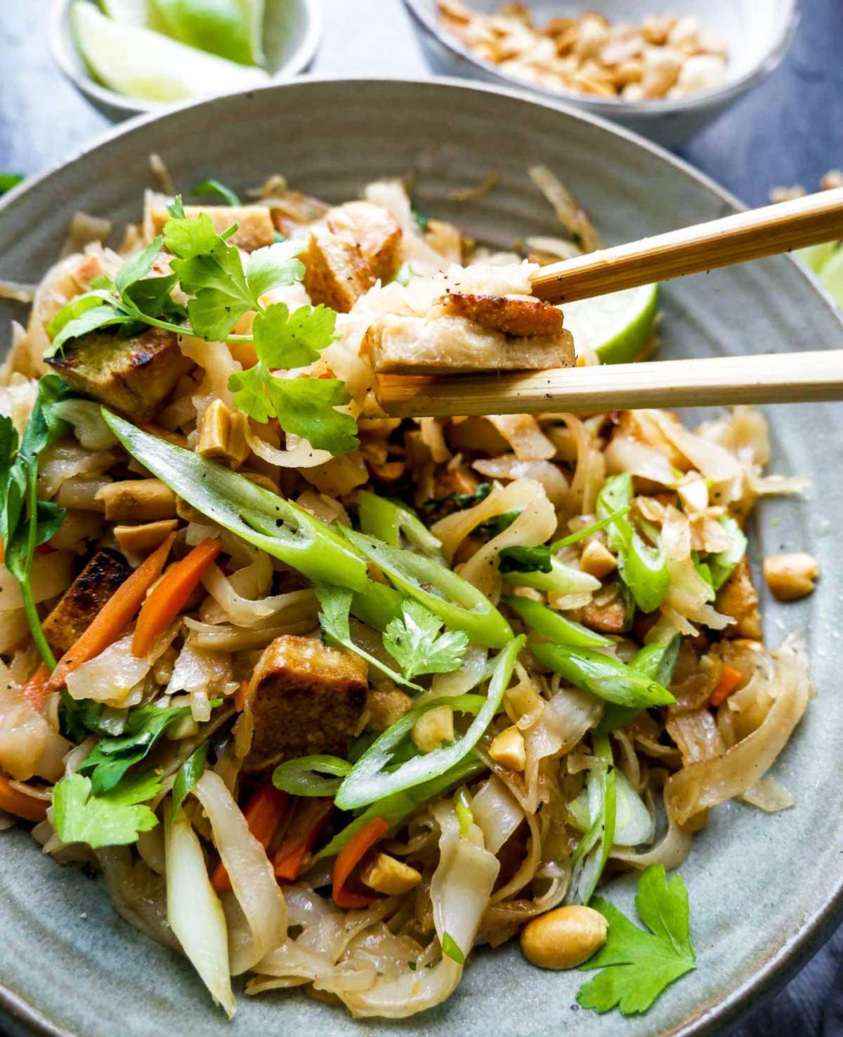skøn og nem pad thai opskrift uden kød