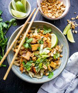 opskrift på vegansk pad thai