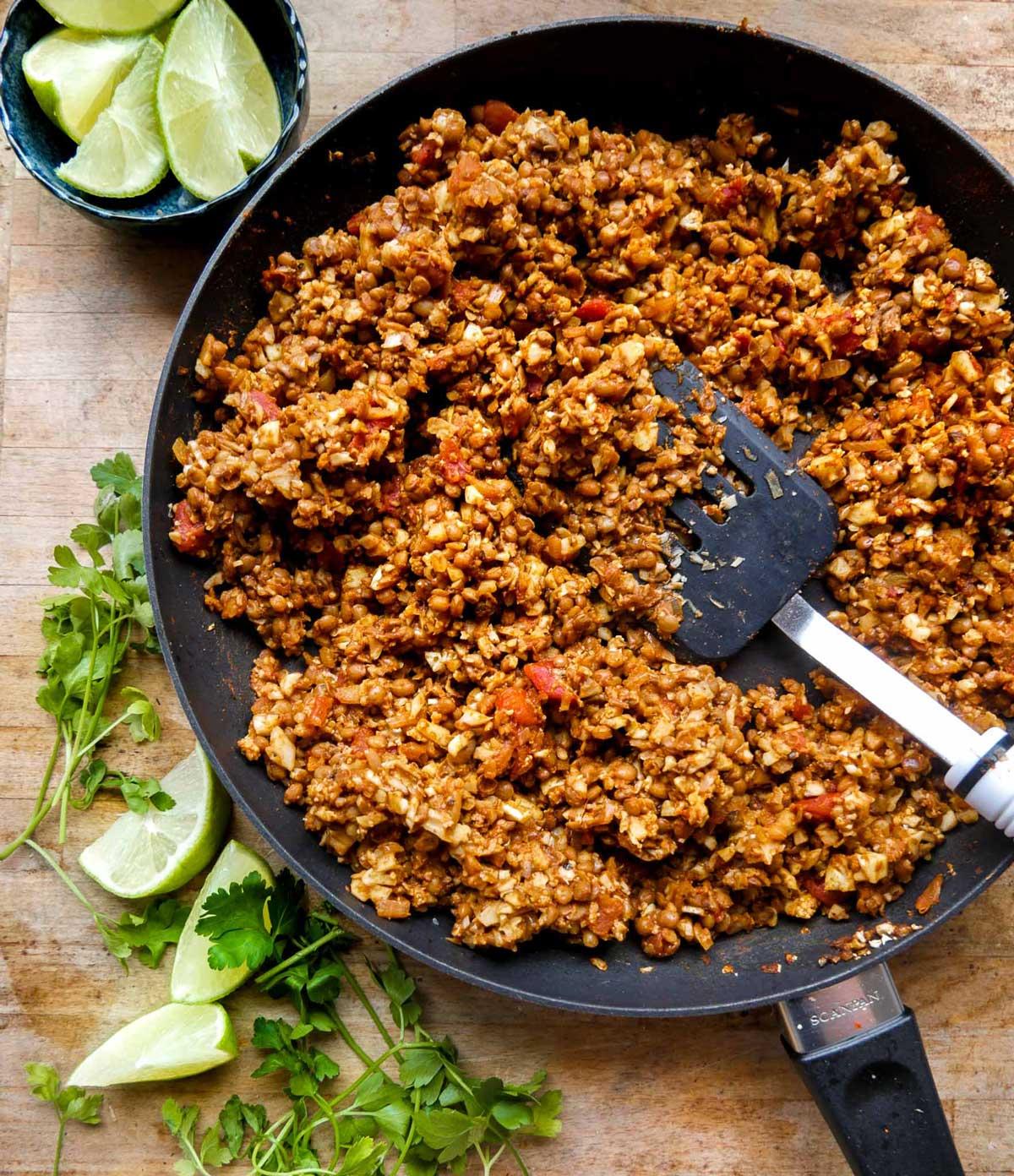 fyld til tacos uden kød