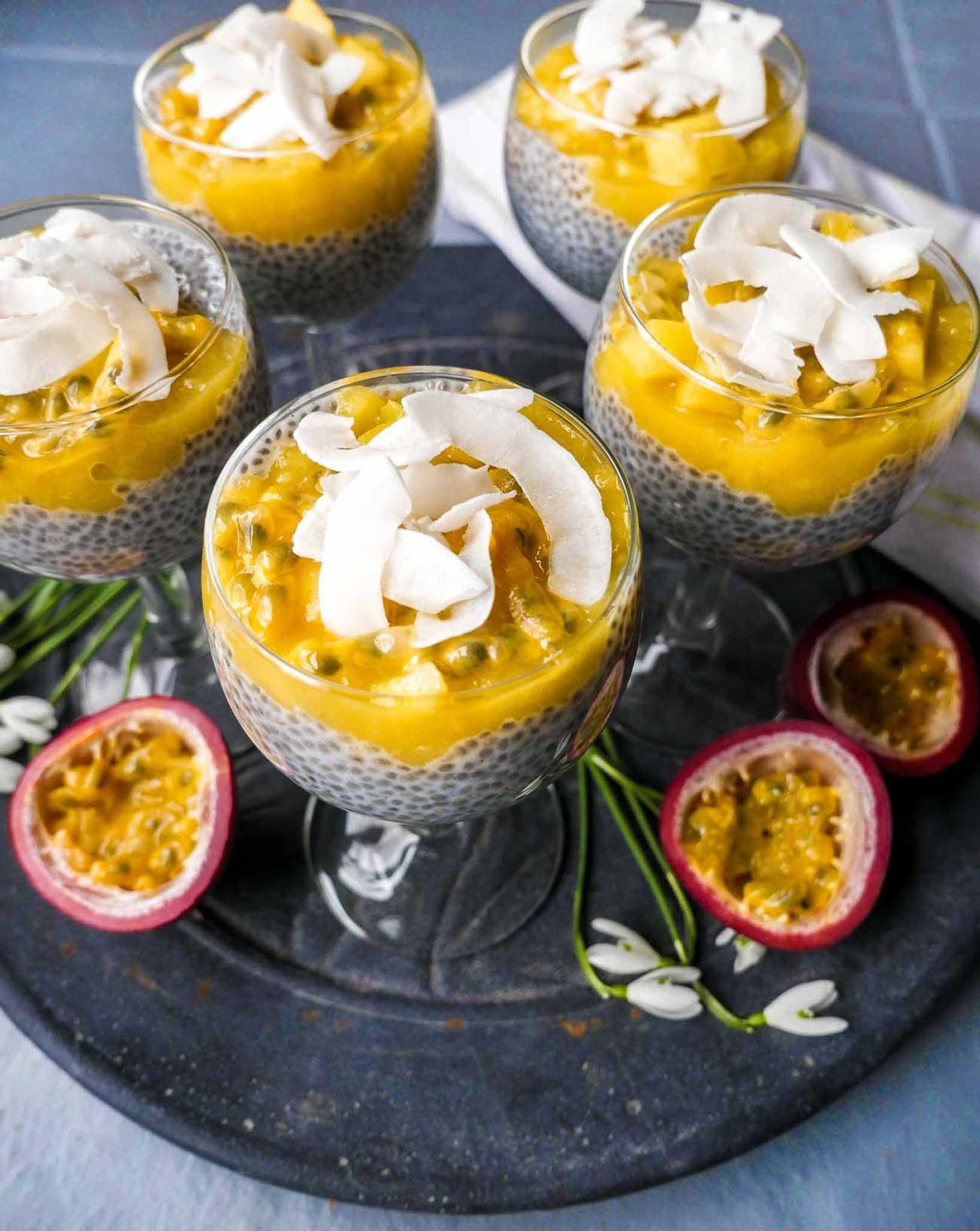 mango sund chia dessert til påske