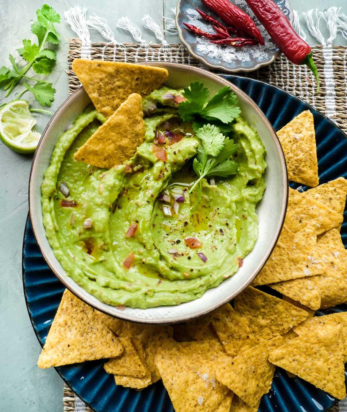 min guide til den bedste guacamole hjemmelavet på 15 min