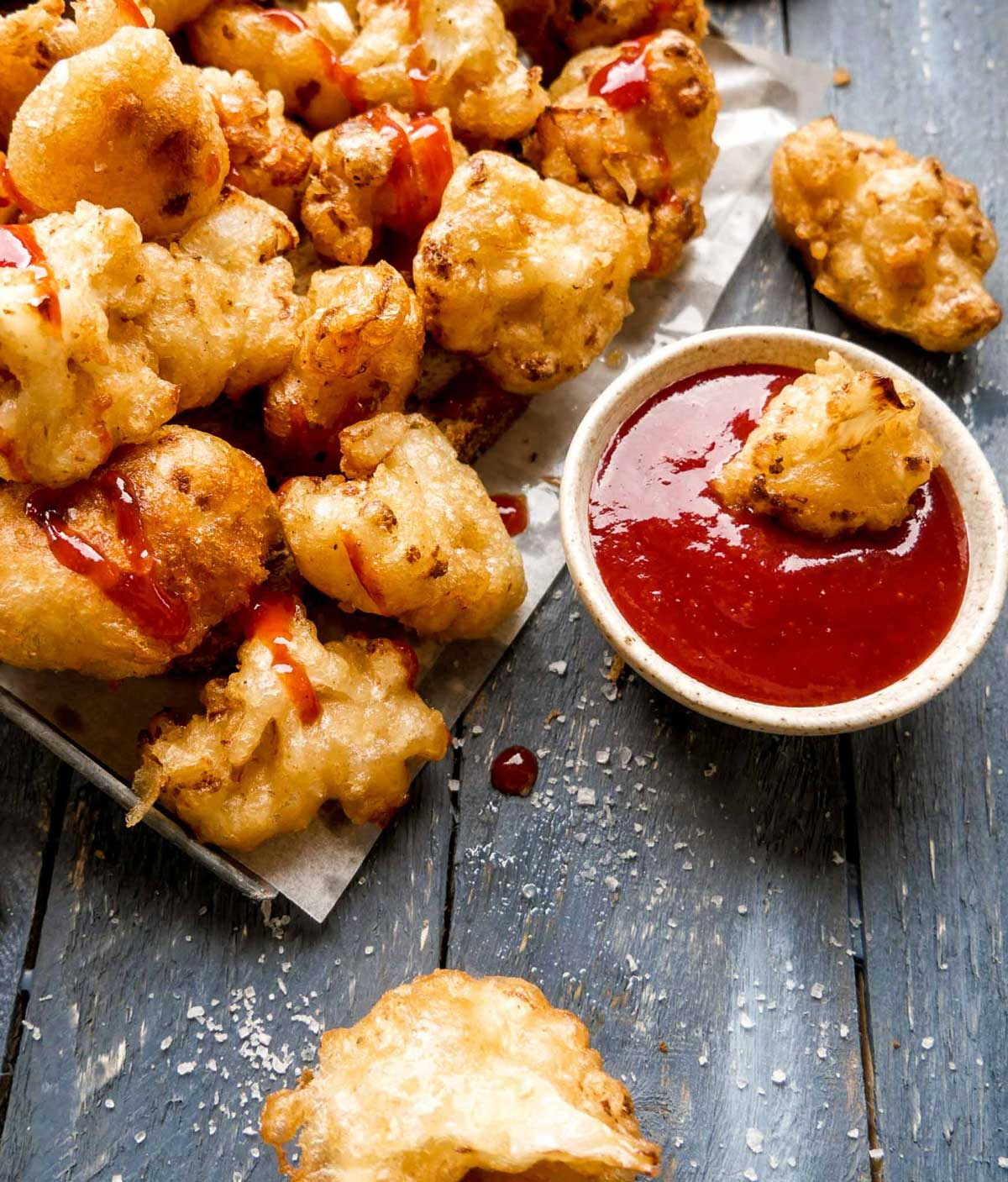 hjemmelavet ketchup med nuggets