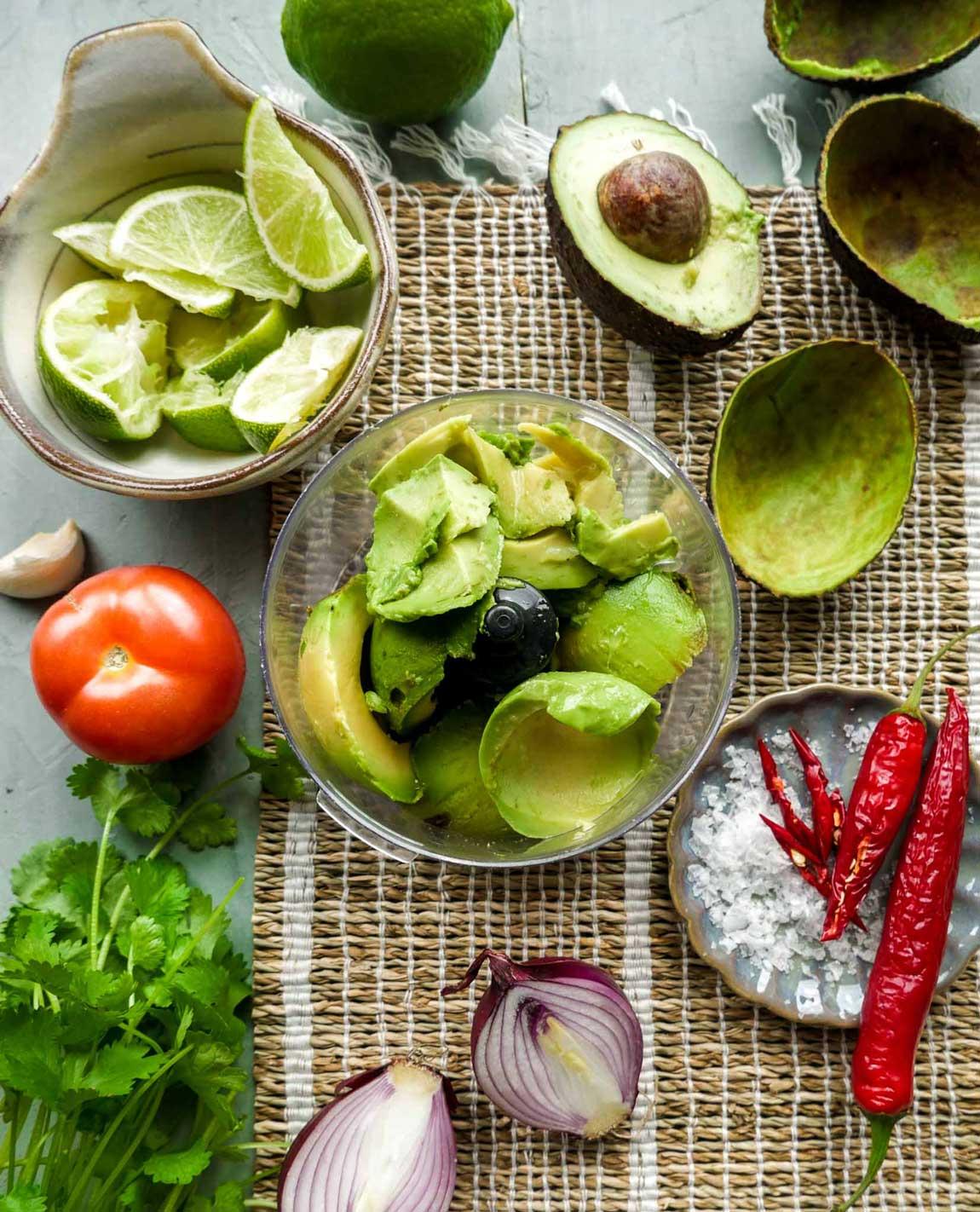 hvordan laver man guacamole