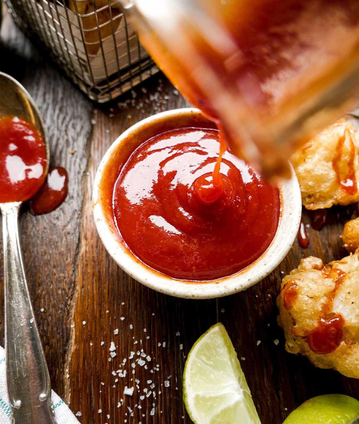 hjemmelavet vegansk ketchup opskrift micadeli